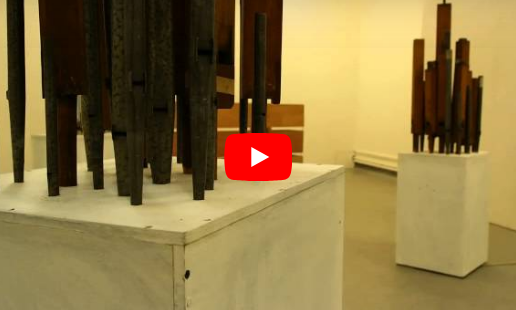 100 organ pipe installation