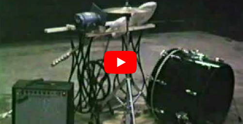 guitar drum and hi hat machine